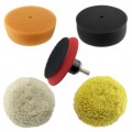 Buffing /Polishing Kit 100mm Velcro backed