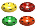 Saburrtooth Donut Shaped Sanding and Shaping Discs with Vision Holes 4