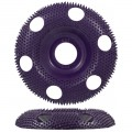 47854 Holey Galahad - Round Extreme Coarse Purple