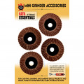 King Arthur 10302 KAT4 ESSENTIALS FLAP DISCS ASSORTED