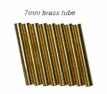 Brass Pen Tubes Slimline 6 Pack