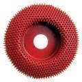 A: Merlin 10009 - Coarse Red Carbide Abrasive