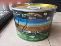 Organoil Decking and  Exterior Clear Oil  10 Litre