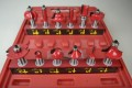 12 Piece Router Bit Set 1/2