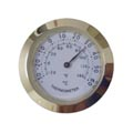 Thermometer Insert 37mm Gold White Face