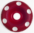 Holey Galahad Round Medium Red  47852 RCB 7/8