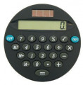 Black and Silver  Solar Powered 70 mm Calculator Kits
