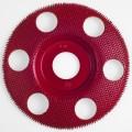 Holey Galahad - Flat Medium Red 47872 FMR 7/8