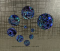Paua Dots Medium Pack Quantities 5mm to 30mm