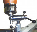 (A) Pro-mount detailing stand ,chuck spindle and tool post
